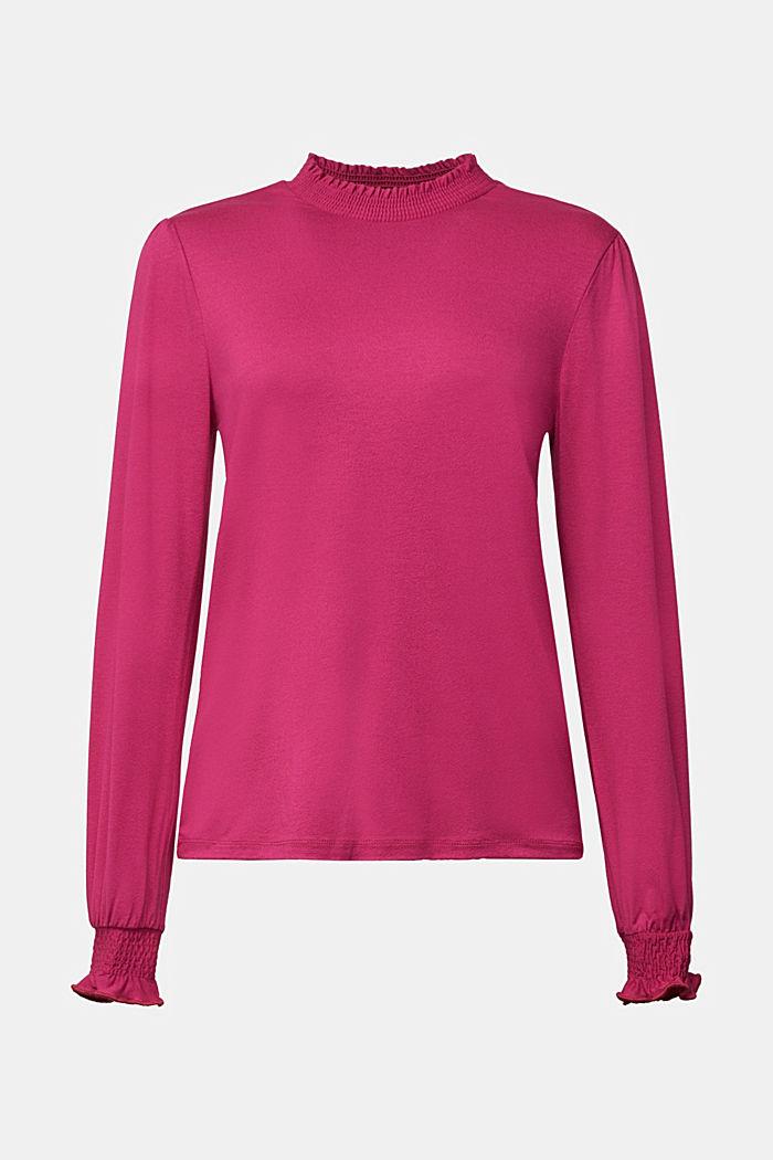 Long sleeve top made of LENZING™ ECOVERO™