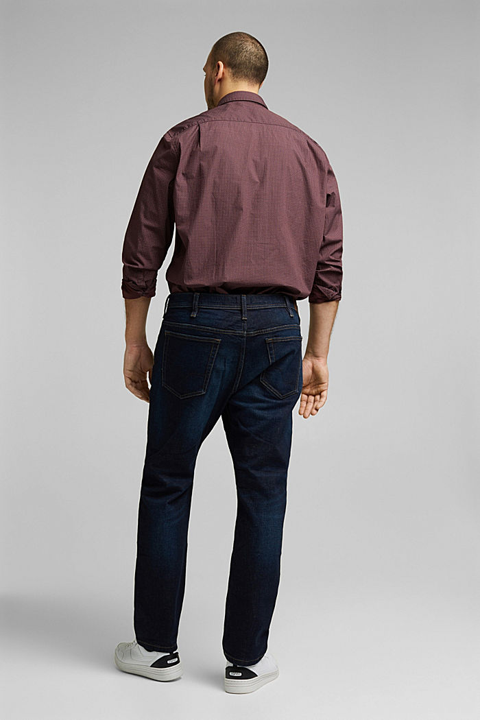 Jeans mit Organic Cotton, BLUE DARK WASHED, detail image number 1