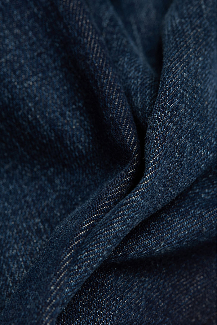 Jeans with organic cotton, BLUE DARK WASHED, detail image number 4