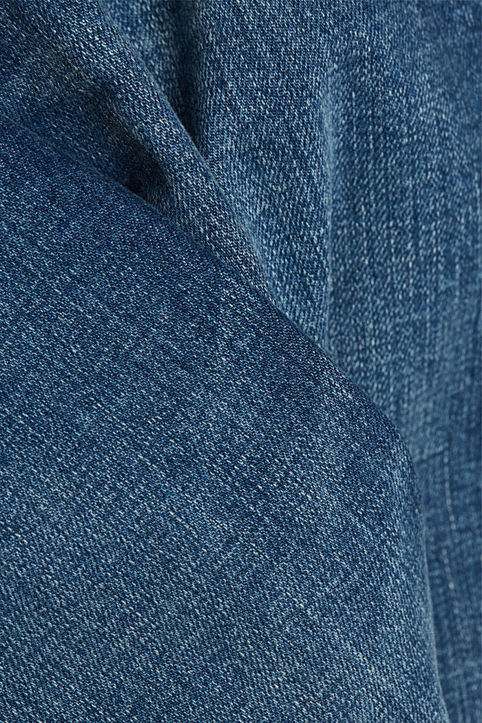Jeans with organic cotton, BLUE MEDIUM WASHED, detail image number 4