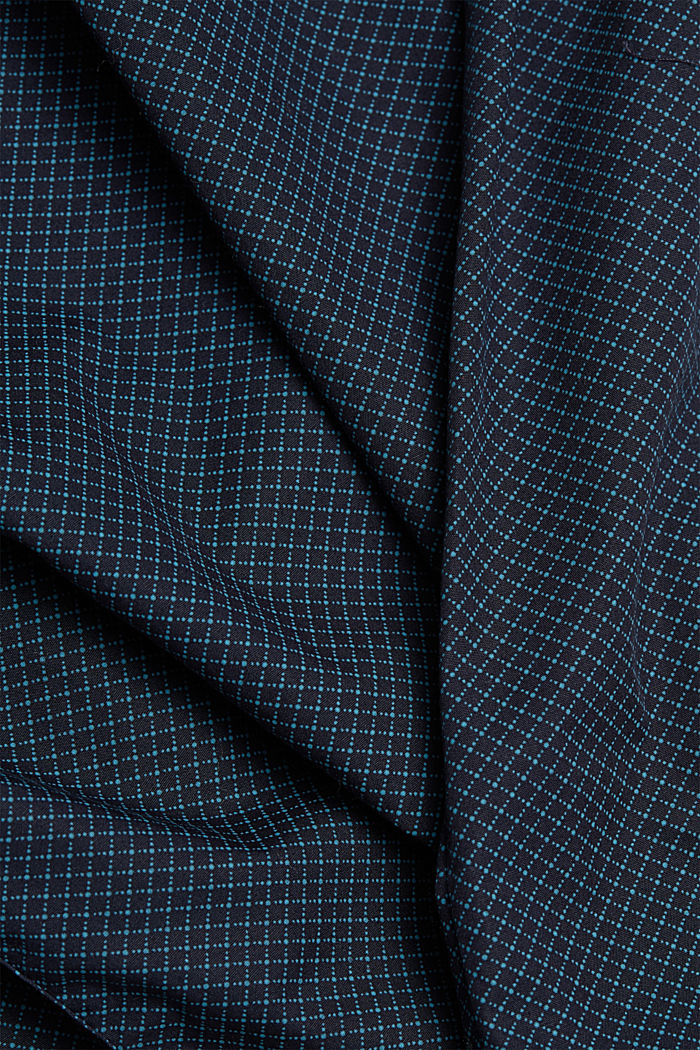 Print shirt made of 100% organic, NAVY, detail image number 4