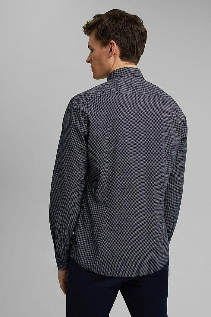 Print shirt made of 100% organic, NAVY, detail image number 3