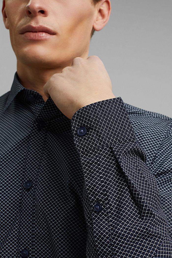 Print shirt made of 100% organic, NAVY, detail image number 2