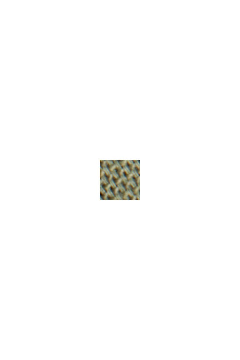 Buttondownoverhemd van katoen-stretch, KHAKI GREEN, swatch