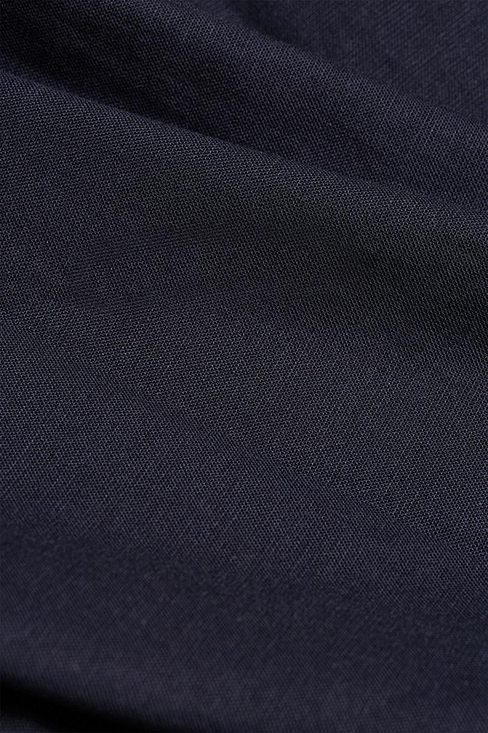 Buttondownoverhemd van katoen-stretch, NAVY, detail image number 4