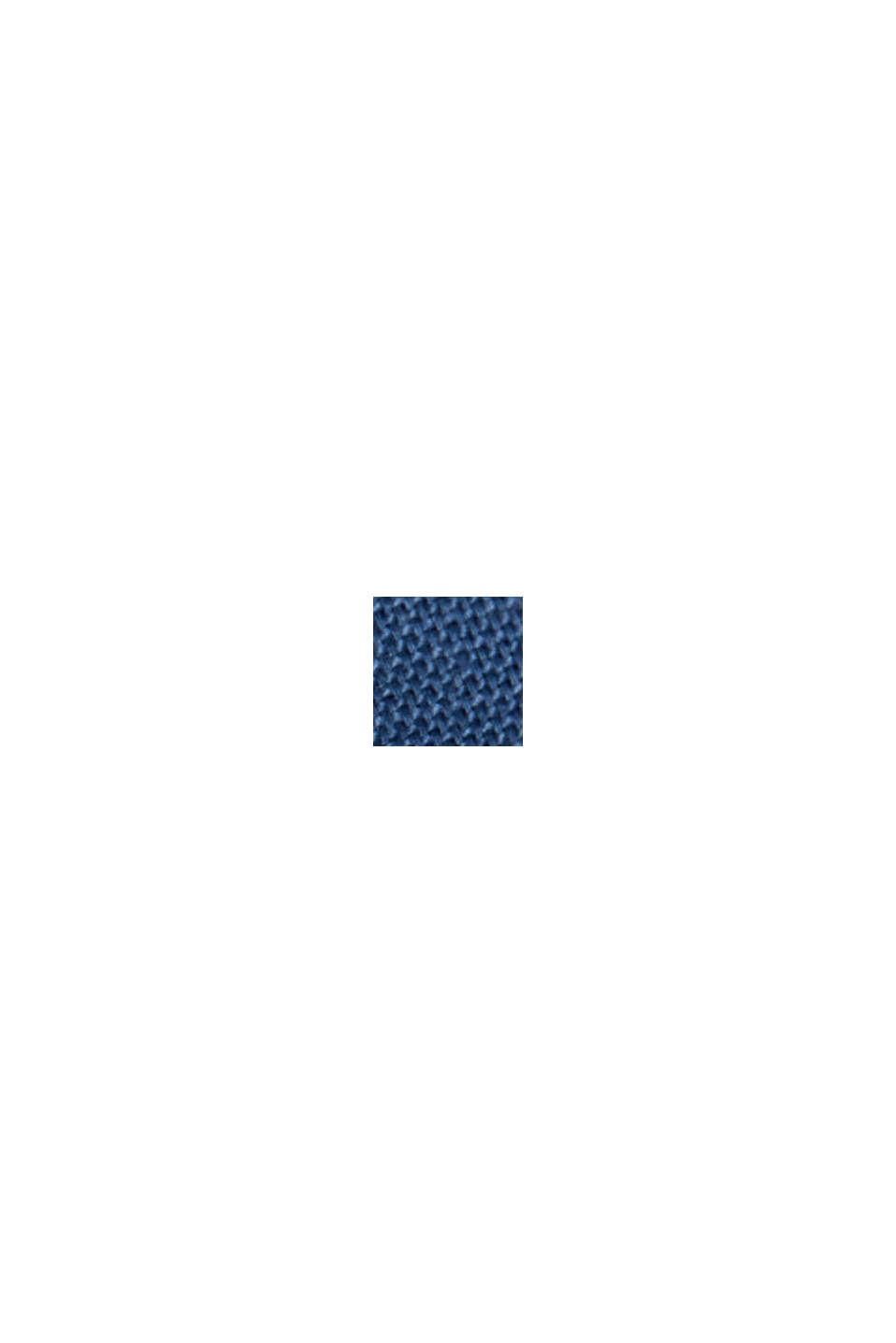 Buttondownoverhemd van katoen-stretch, BLUE, swatch
