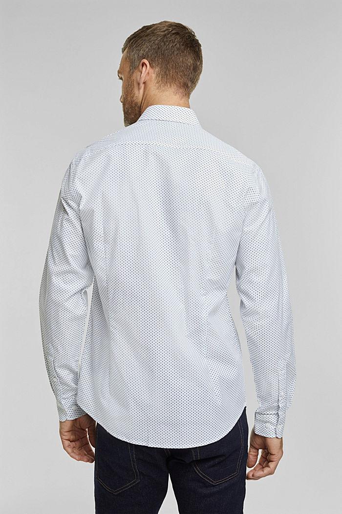 Overhemd met print, van biologisch katoen, WHITE, detail image number 3