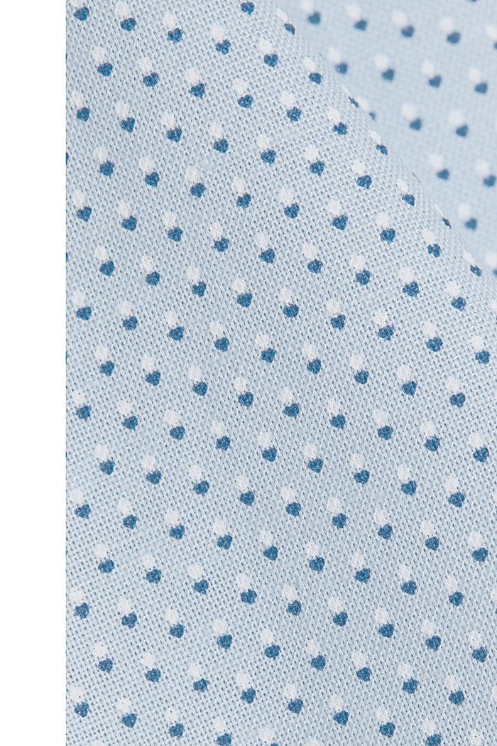 Print-Hemd aus Organic Cotton, LIGHT BLUE, detail image number 4