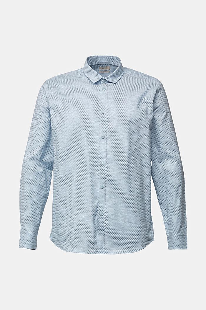 Print shirt made of organic cotton, LIGHT BLUE, detail image number 6