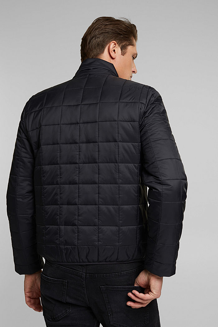 Quilted jacket with 3M™ Thinsulate™ filling, BLACK, detail image number 3