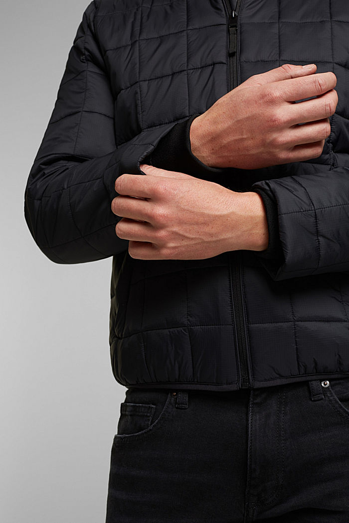 Quilted jacket with 3M™ Thinsulate™ filling, BLACK, detail image number 6