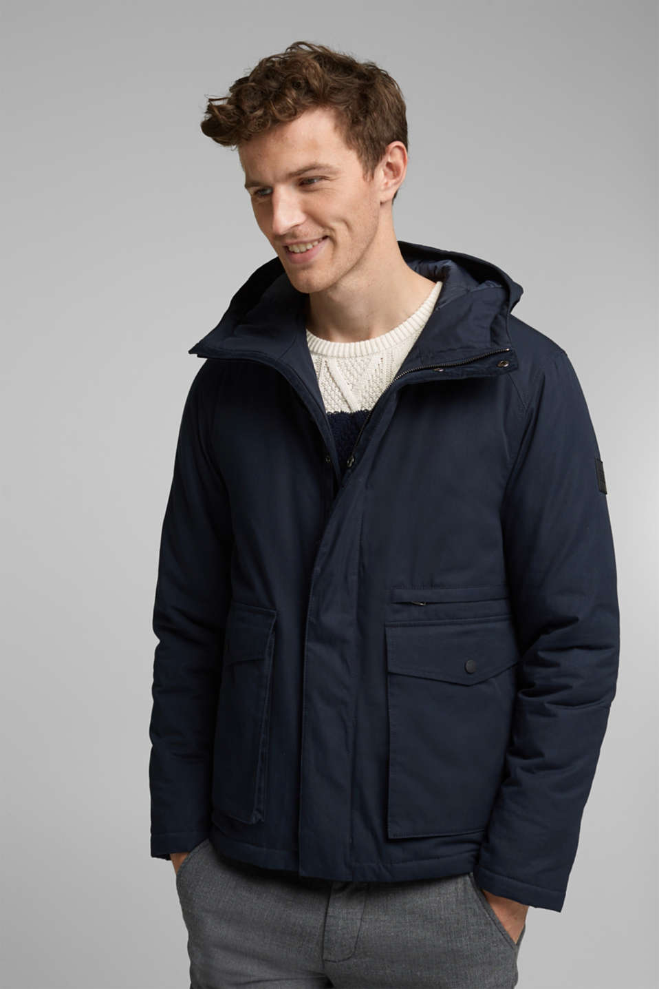 Esprit - Parka au rembourrage 3M™ Thinsulate™