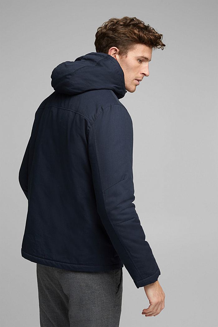 Parka met 3M™Thinsulate™-vulling, DARK BLUE, detail image number 3