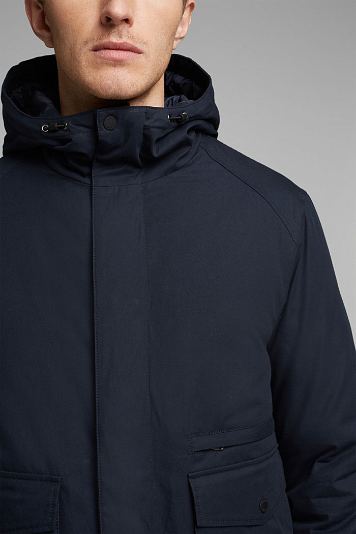 Parka met 3M™Thinsulate™-vulling, DARK BLUE, detail image number 2