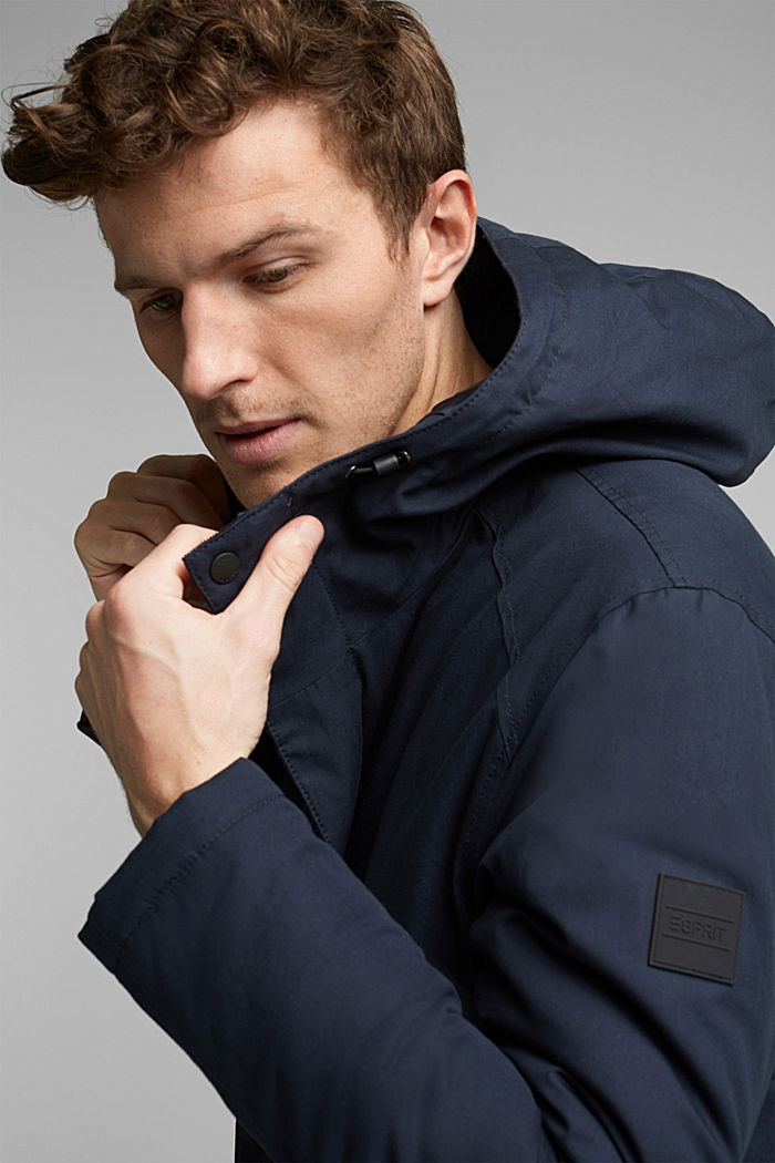 Parka met 3M™Thinsulate™-vulling, DARK BLUE, detail image number 5