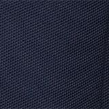 Sakko aus Honeycomb-Strick, Organic Cotton, GREY BLUE, swatch