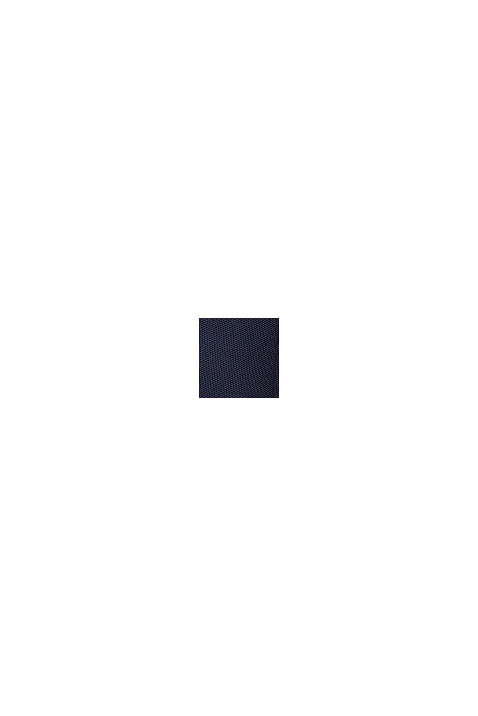 Veste en maille nid d´abeilles coton biologique, GREY BLUE, swatch