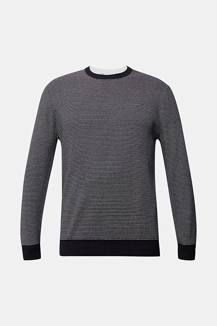2-Tone Pullover aus 100% Organic Cotton