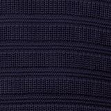 Textured jumper made of 100% organic cotton, NAVY, swatch
