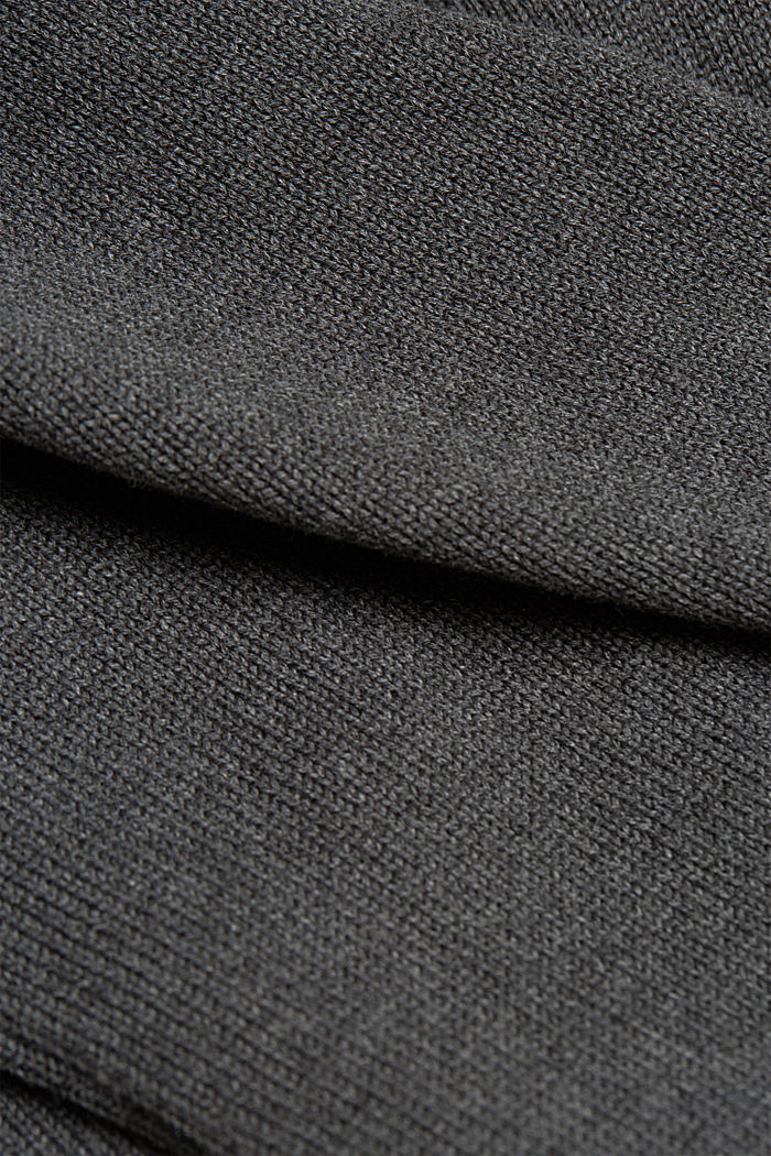 Jumper made of 100% organic cotton, DARK GREY, detail image number 4