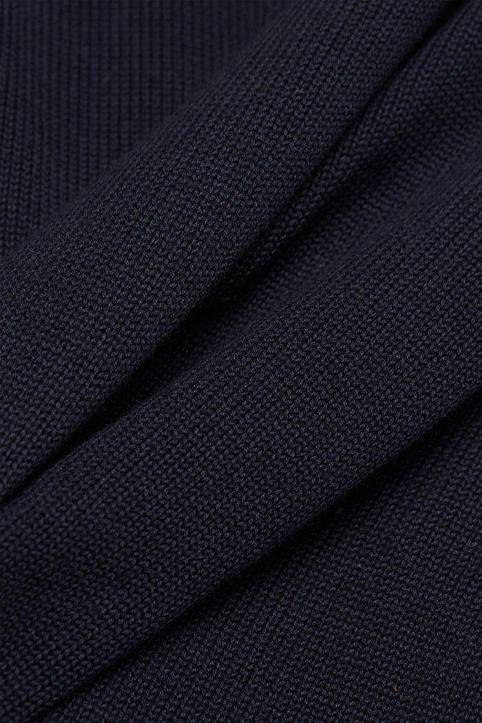 Jumper made of 100% organic cotton, NAVY, detail image number 4