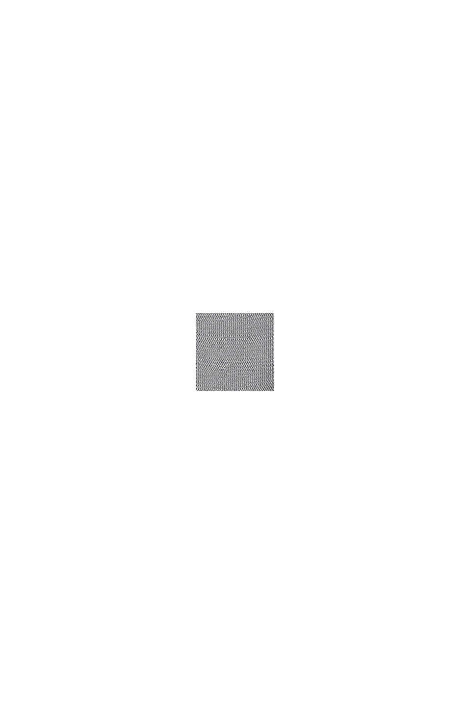 Jersey con textura en 100% algodón ecológico, MEDIUM GREY, swatch