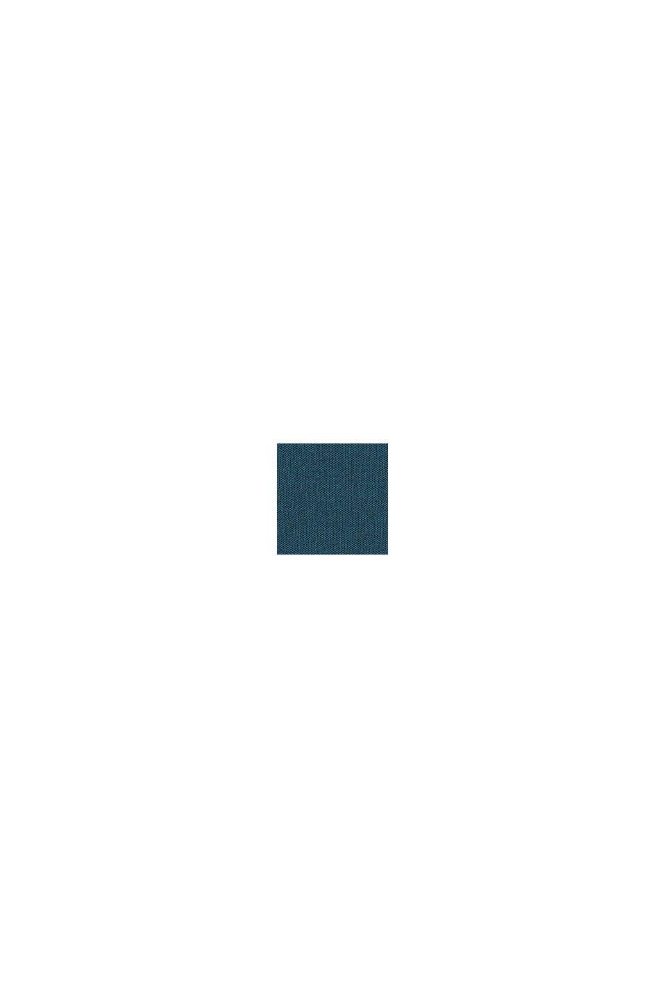 Jersey en 100% algodón ecológico, TEAL BLUE, swatch