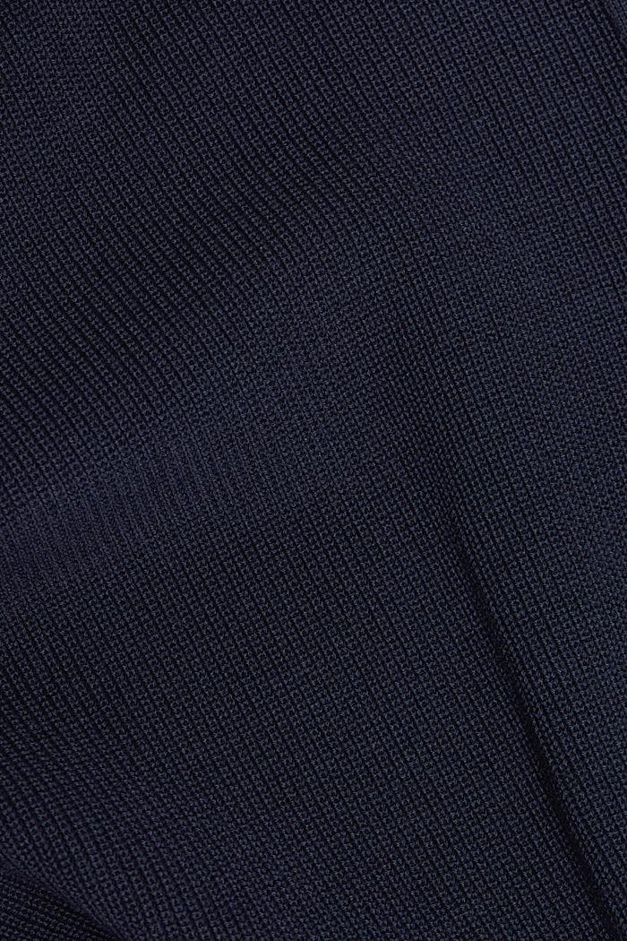 Pullover aus 100% Organic Cotton, NAVY, detail image number 4