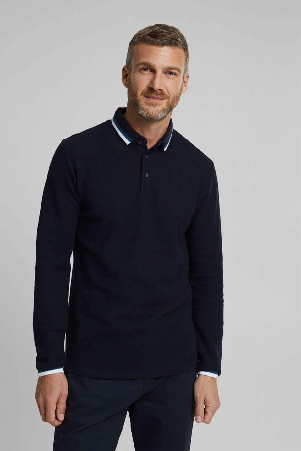 Esprit - Polo shirt made of 100% organic cotton