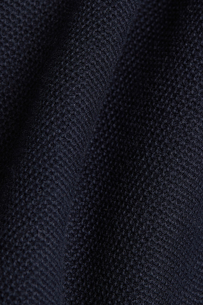 Polo shirt made of 100% organic cotton, NAVY, detail image number 5
