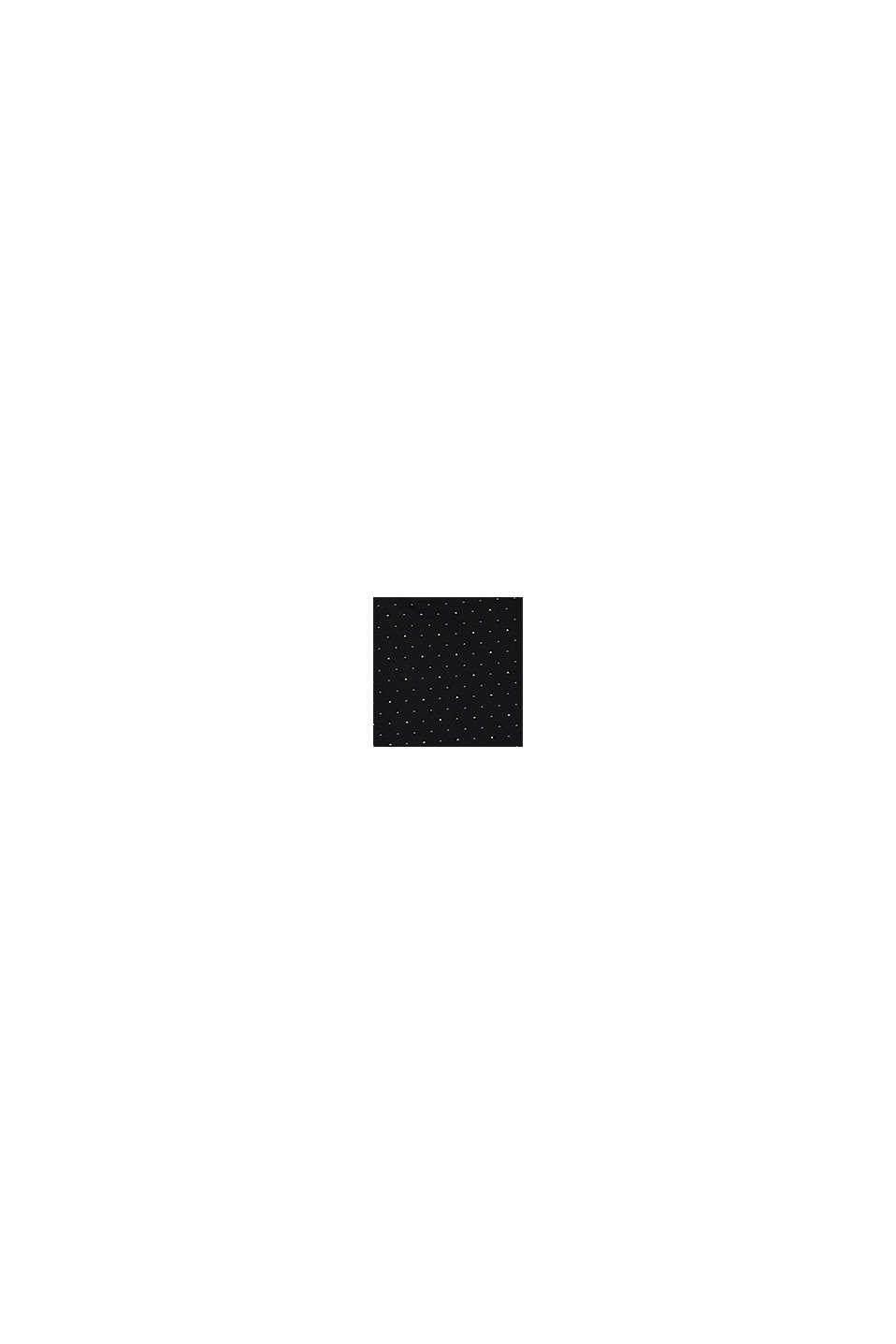 Kaulus-T-paita 100 % luomupuuvillaa, BLACK, swatch