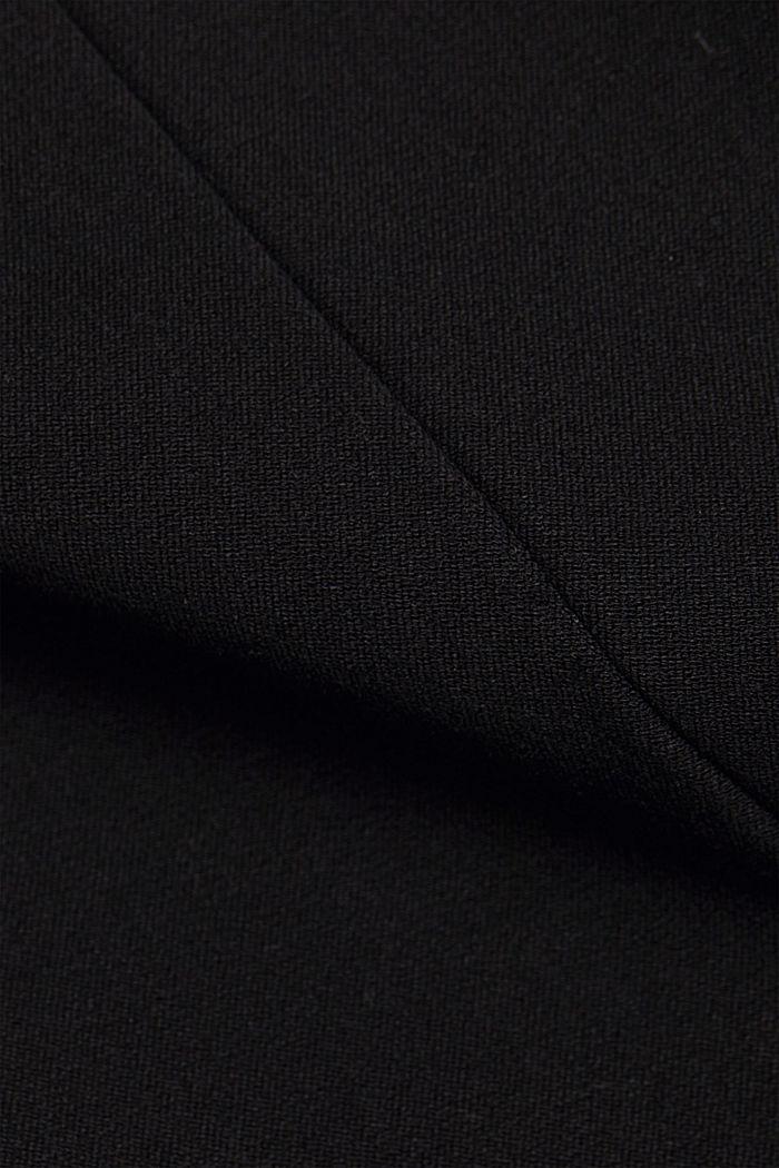Pantalón de jersey con LENZING™ ECOVERO™, BLACK, detail image number 4