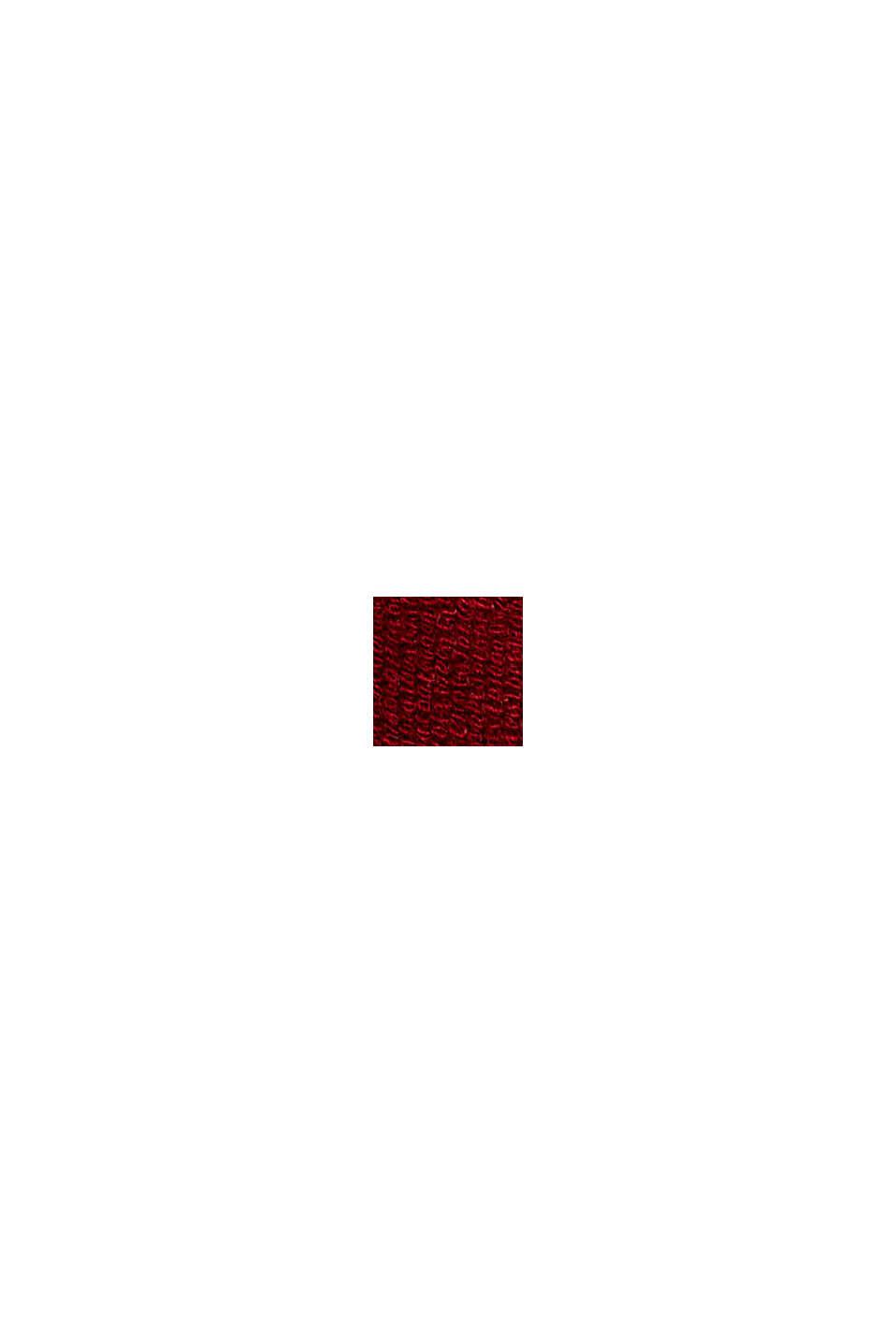 Jerseyhousut LENZING™ ECOVERO™ -materiaalia, DARK RED, swatch