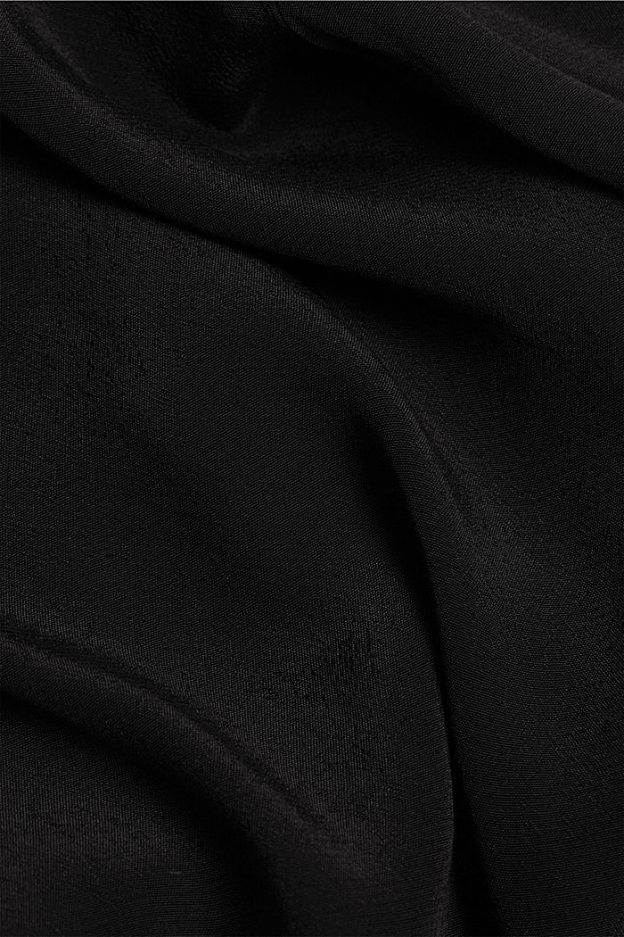 Dress with LENZING™ ECOVERO™, BLACK, detail image number 4