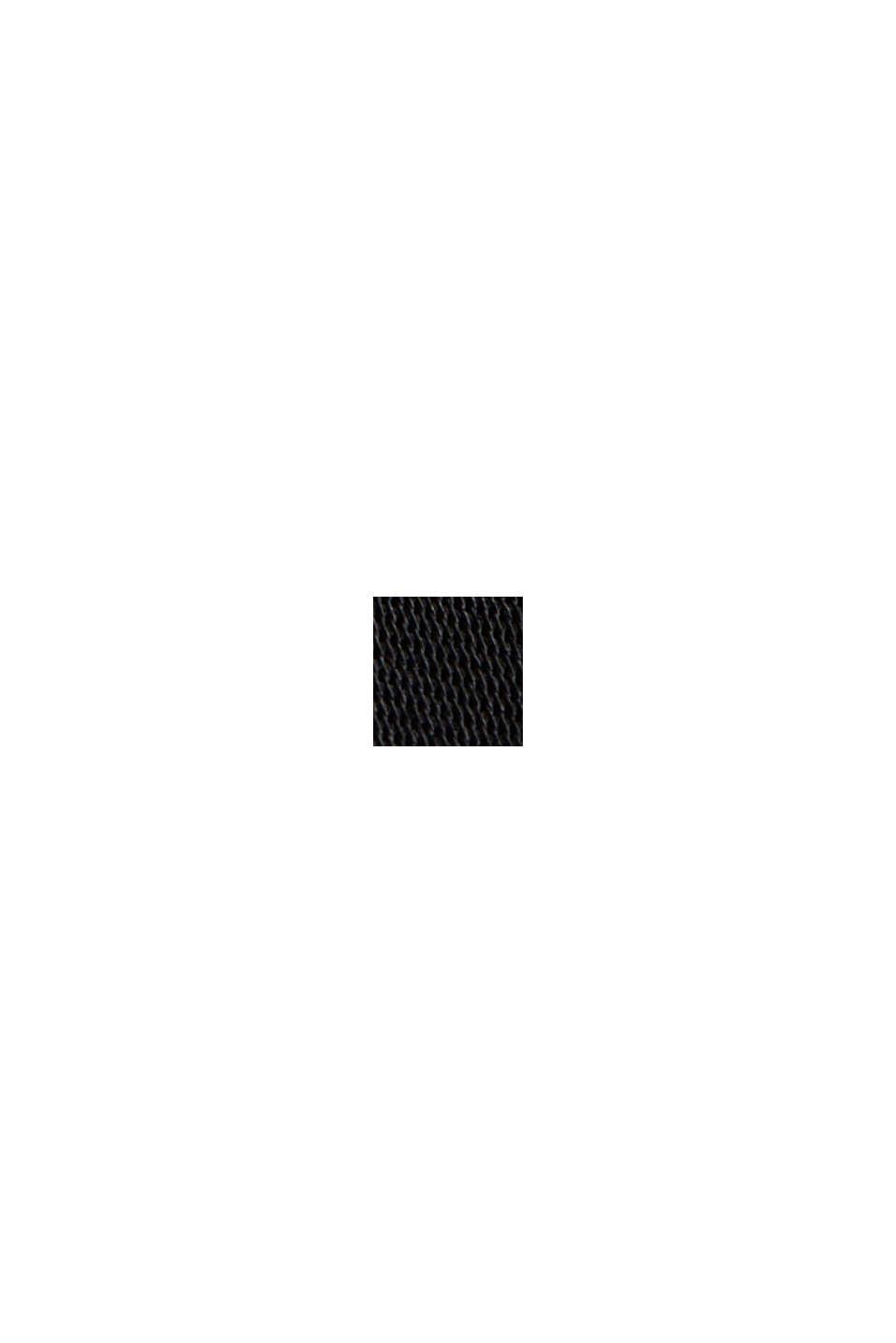 Satin dress made of LENZING™ ECOVERO™, BLACK, swatch