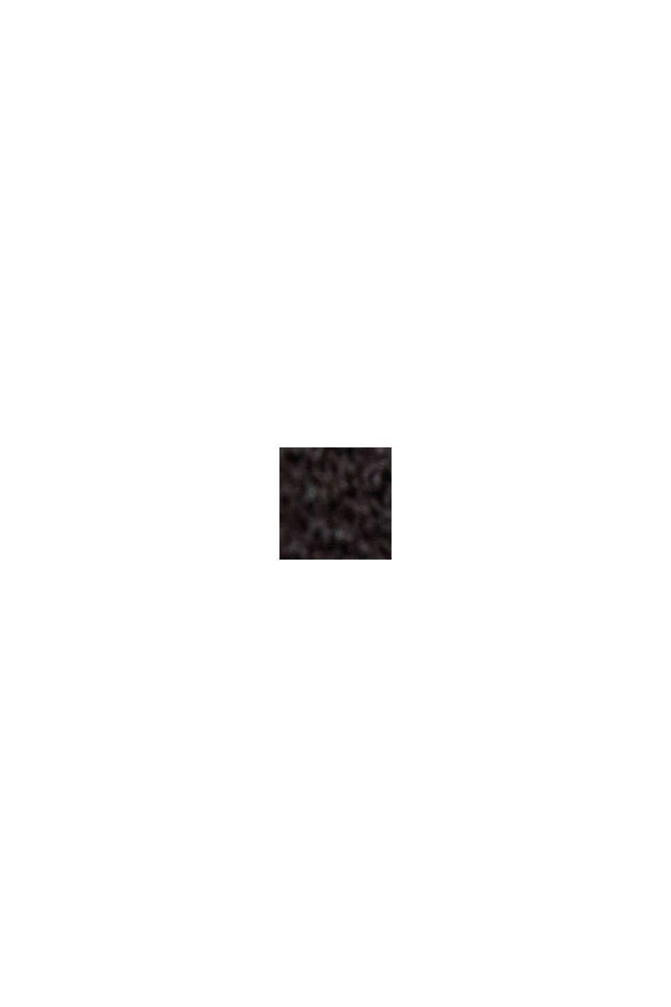 Vestido de jersey con LENZING™ ECOVERO™, BLACK, swatch