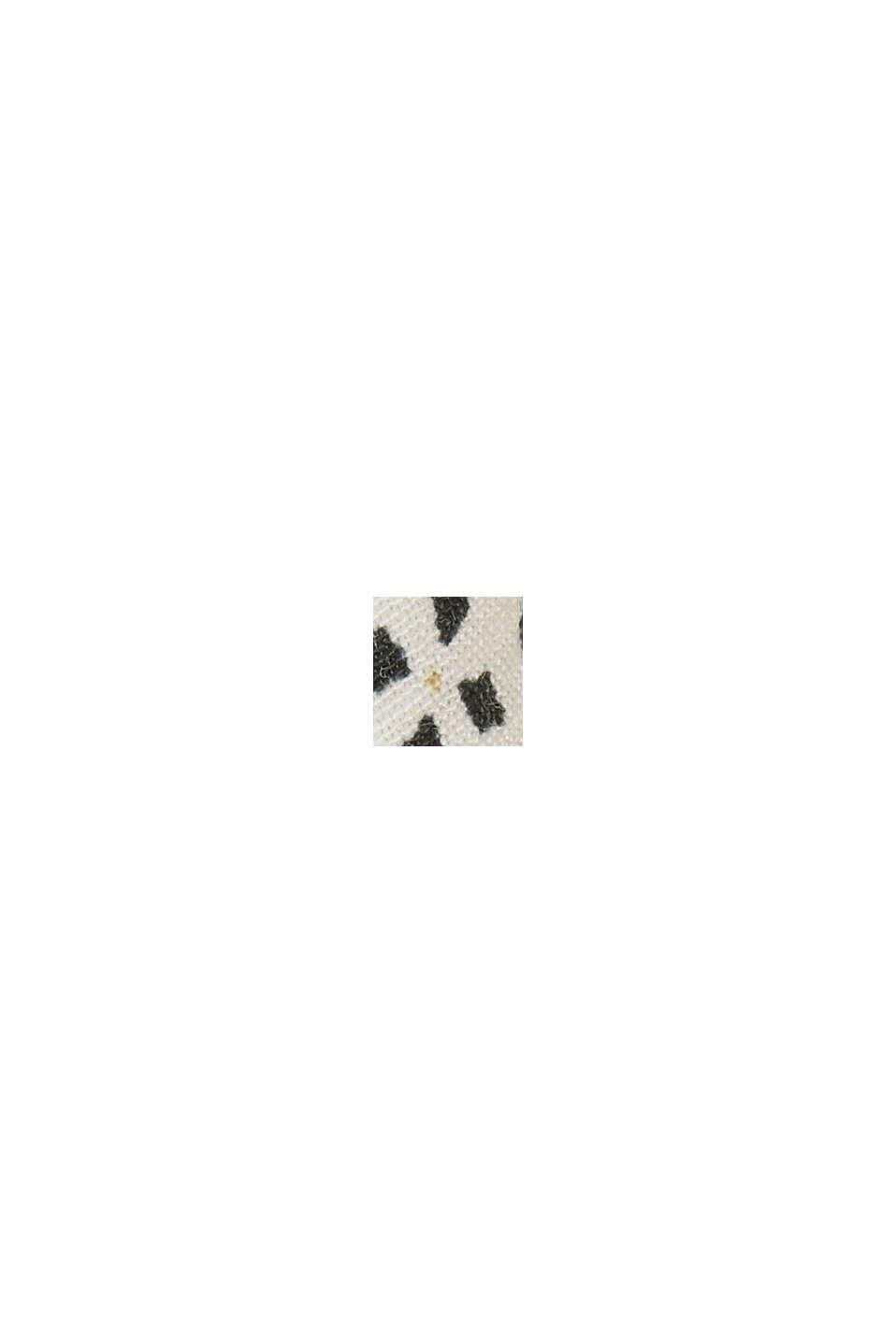 Blusa con stampa minimal, OFF WHITE, swatch