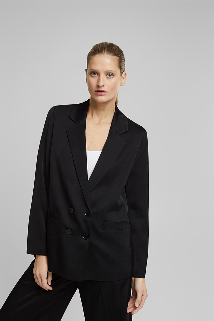 long fashion blazer