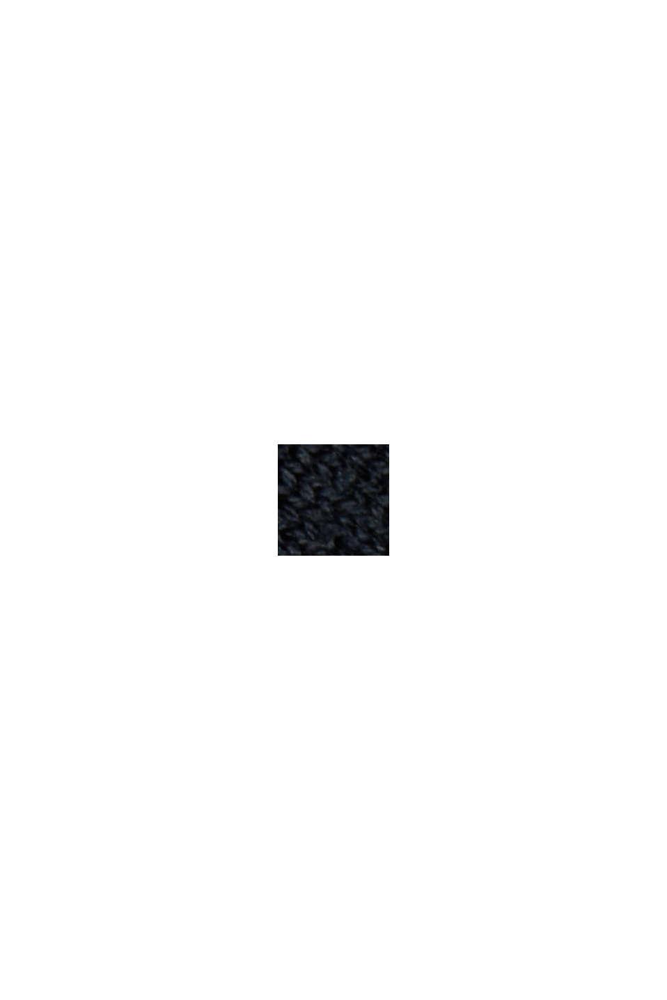 Merino-Pullover mit Fledermaus-Ärmeln, BLACK, swatch