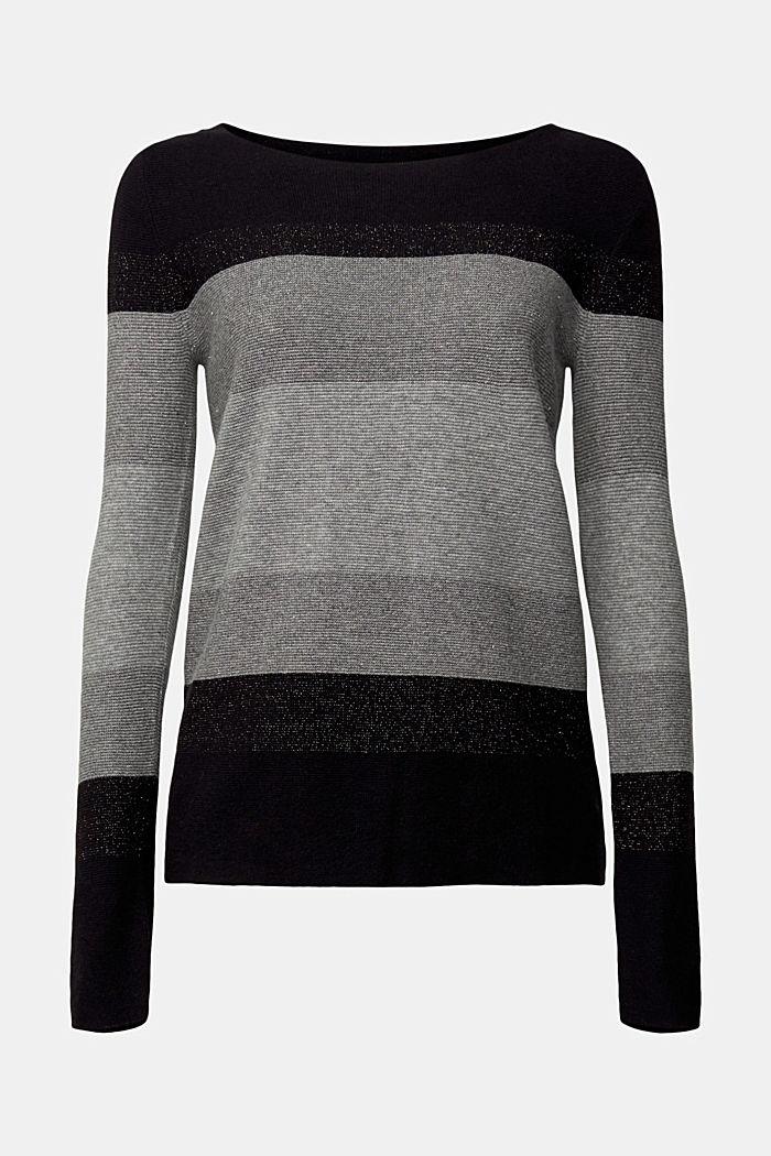 Cashmere blend: striped jumper