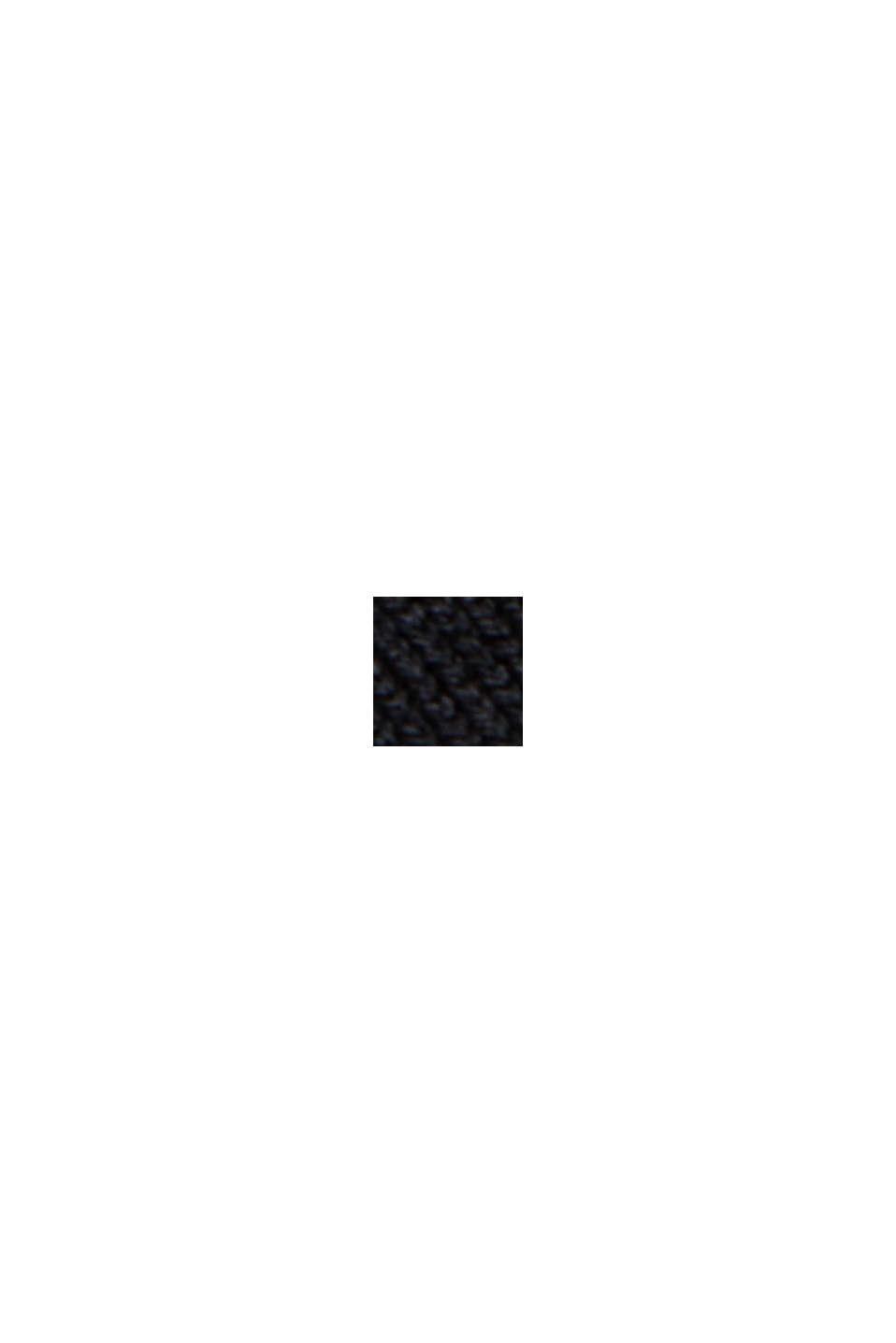 Pull-over en fibres LENZING™ ECOVERO™, BLACK, swatch