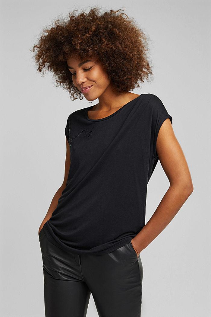 T-Shirt aus 100% LENZING™ ECOVERO™