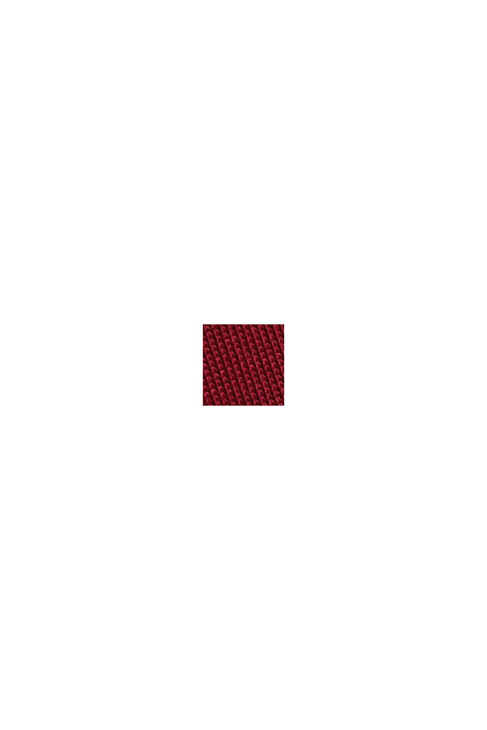 Soepel stretchshirt, BORDEAUX RED, swatch