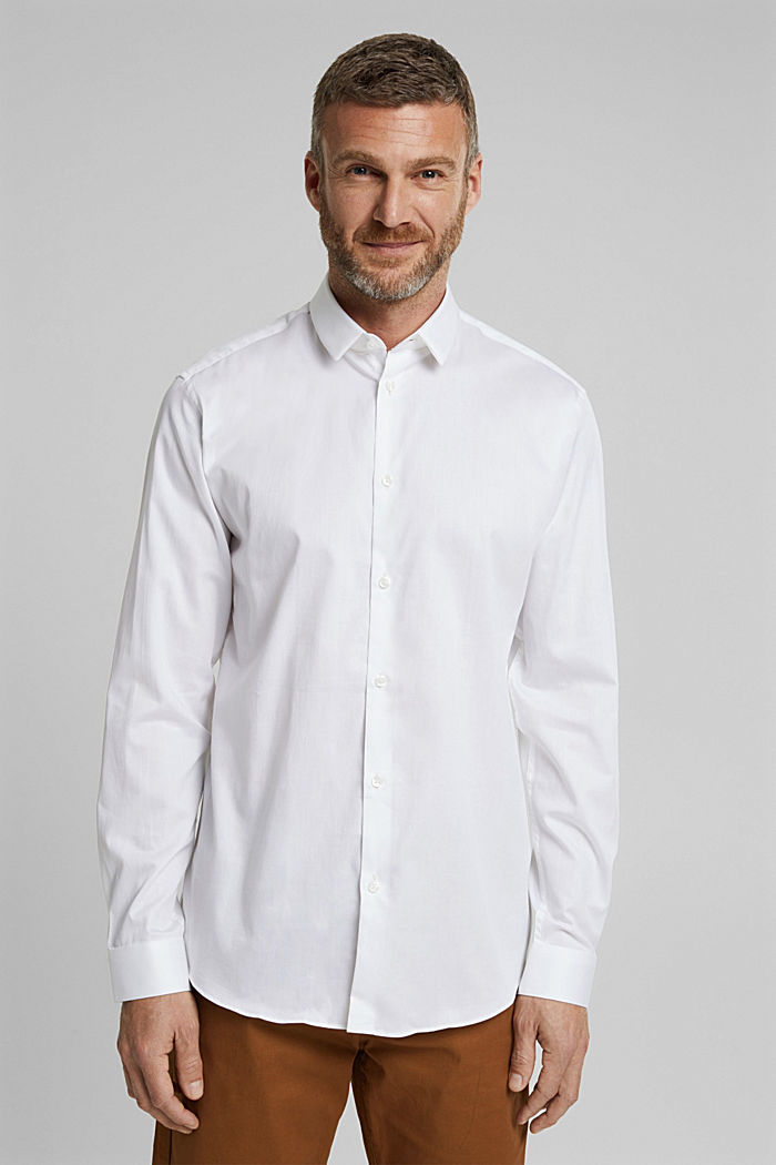 Poplin shirt made of 100% organic cotton