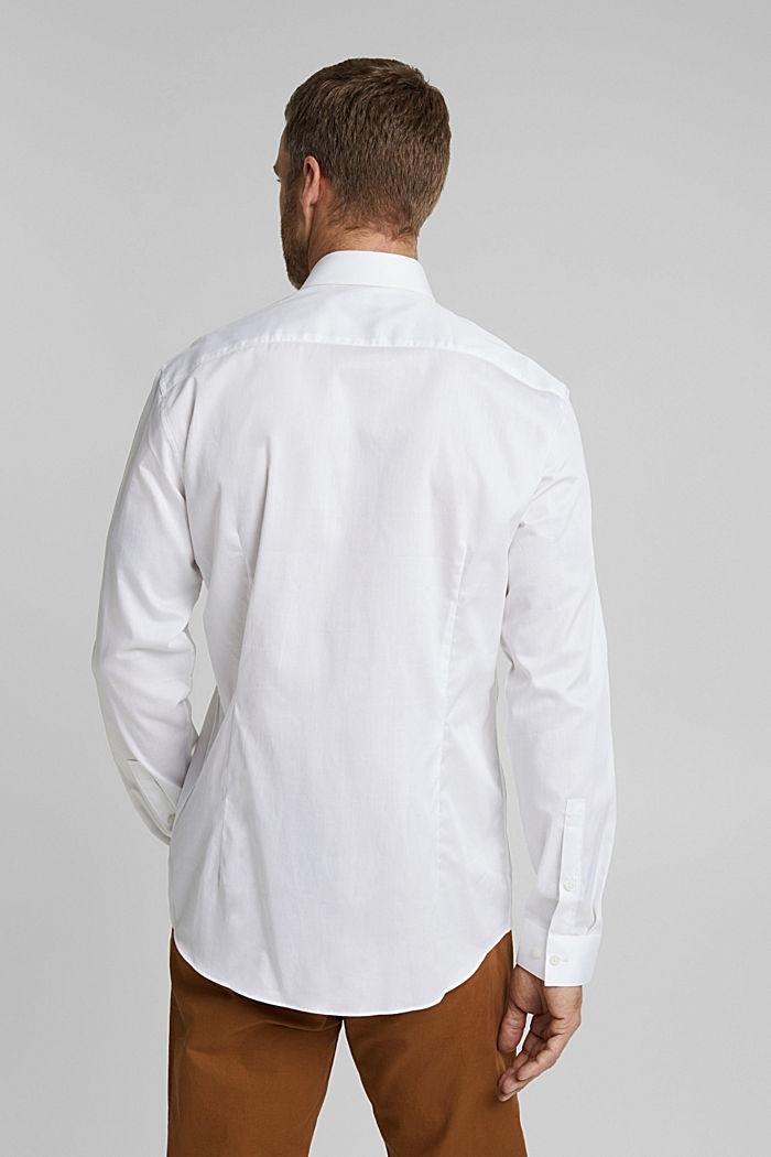 Poplin shirt made of 100% organic cotton, WHITE, detail image number 3