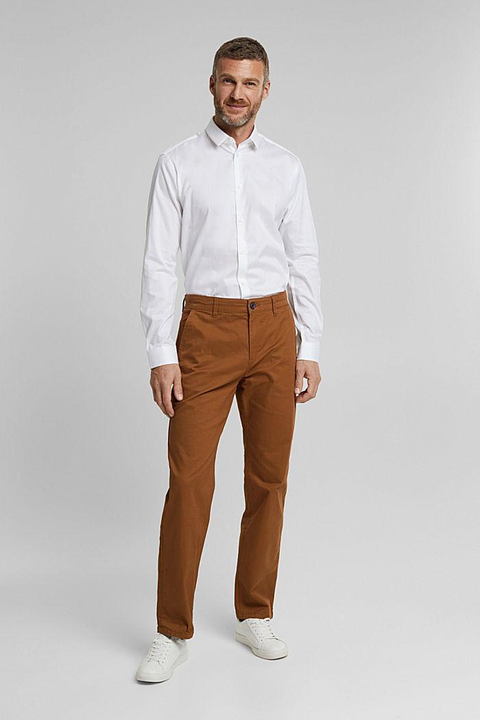 Poplin shirt made of 100% organic cotton, WHITE, detail image number 6