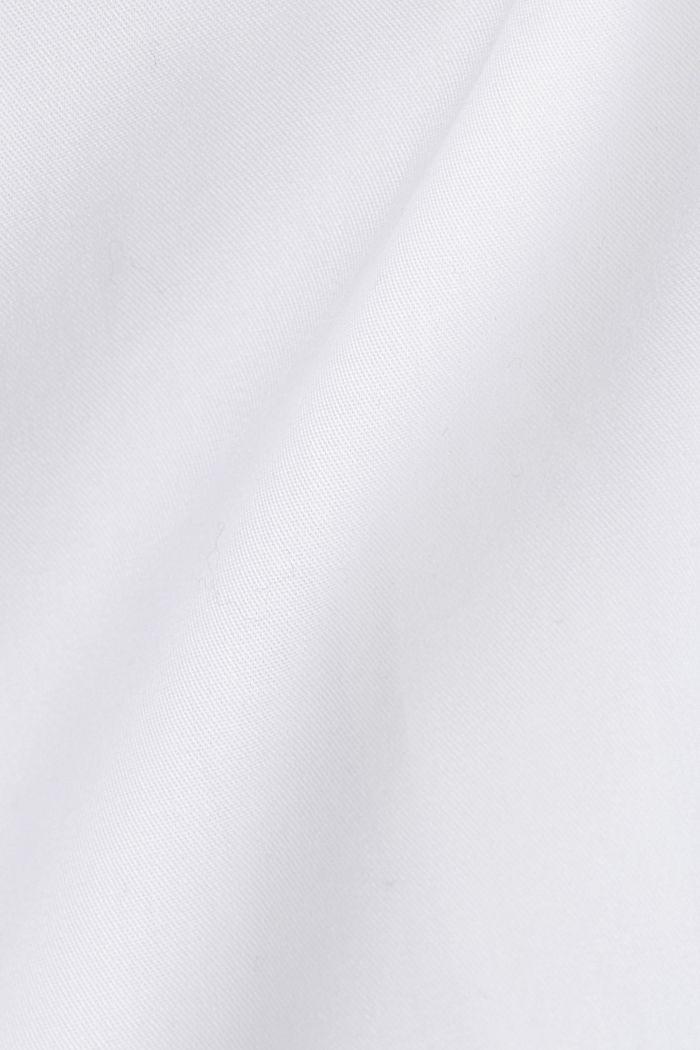 Poplin shirt made of 100% organic cotton, WHITE, detail image number 4