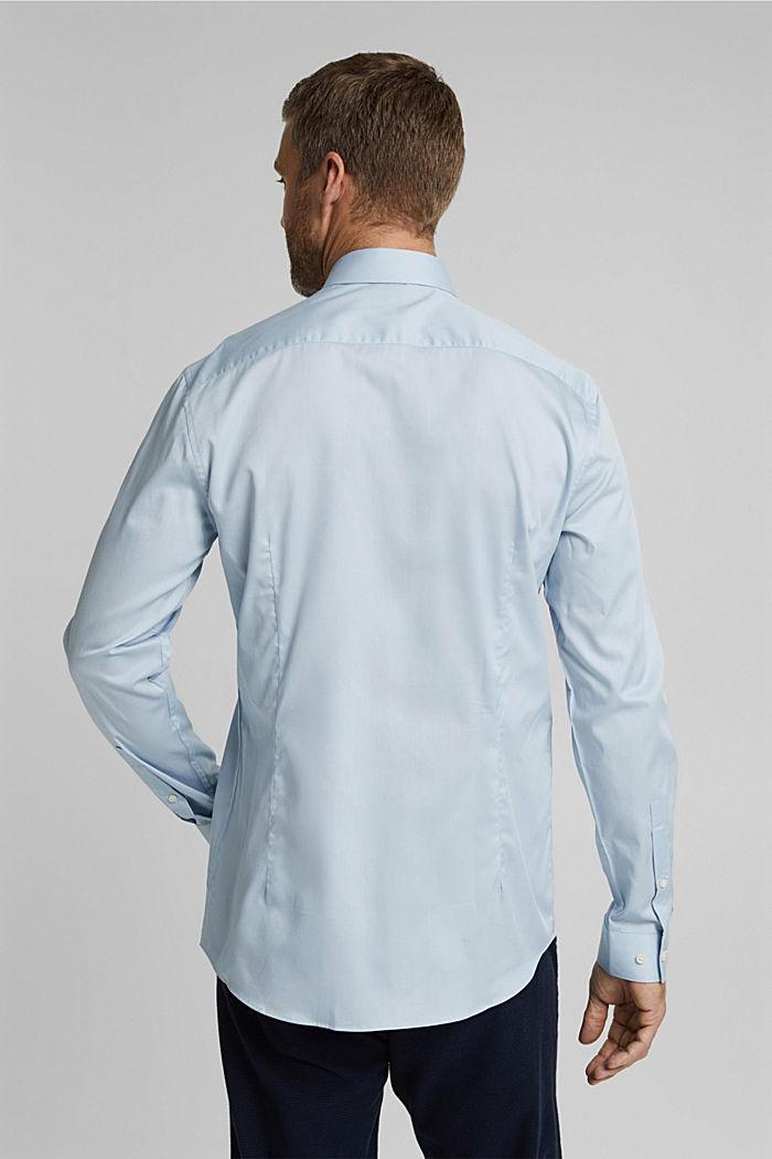 Popeline overhemd van 100% biologisch katoen, LIGHT BLUE, detail image number 3