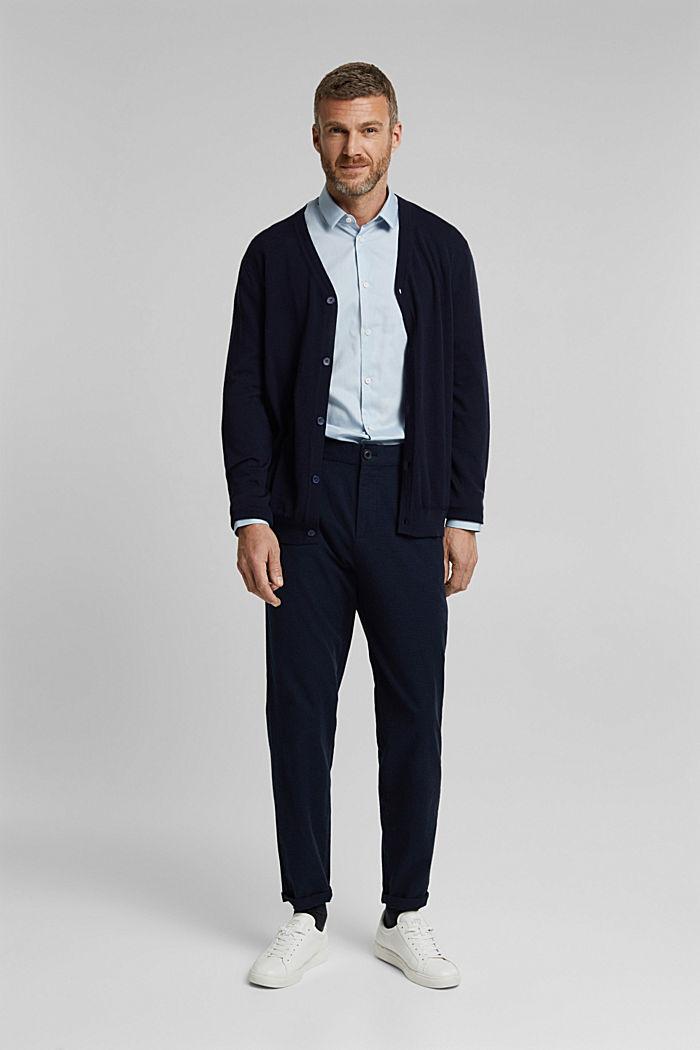 Poplin shirt made of 100% organic cotton, LIGHT BLUE, detail image number 1