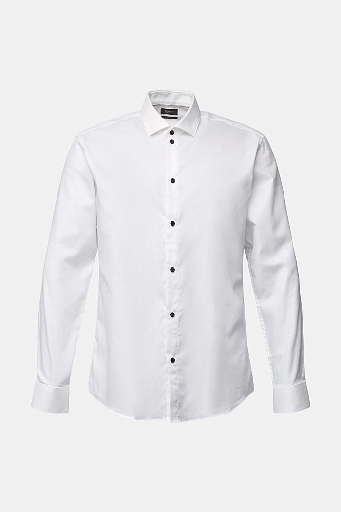 Shirt made of 100% organic cotton, WHITE, detail image number 6